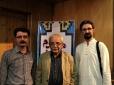 همراه با فرزاد سپهر در کنار دکتر حسین معصومی (عکس از سعید کرمی).