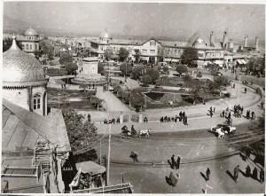 همدان، میدان مرکزی شهر.