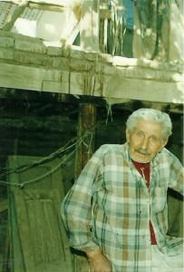 رجبعلی برقیان، اواخر عمر.