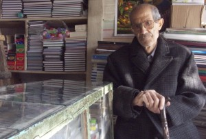 عباس قیضی در اواخر عمر.
